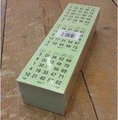 Bingokaarten 1 t/m 75 | 10 Game | Enkel | 1x3