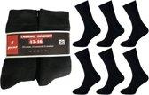 6 paar dikke NAFT  ( zwart )THERMO sokken 43-46