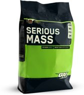 Optimum Nutrition - Serious mass gainer 5450 gram Vanille