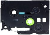 4x Brother Tze-431 TZ-431 Compatible voor Brother P-touch Label Tapes - Zwart op Rood - 12mm