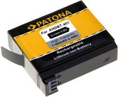 PATONA Premium Battery f. GoPro Hero 4 AHDBT-401 Black Silver Music Surf