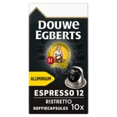 Douwe Egberts Espresso Ristretto Koffiecups - 10 x 10 cups - 100 koffiecups