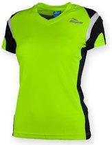 Eabel T-shirt dames - Fluor/Zwart  - Rogelli