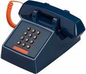 Wild & Wolf 2500 - Retro telefoon - Blauw
