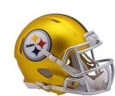 Riddell Speed Mini BLAZE Alt Steelers American Football Helm