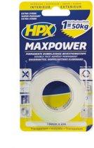 Option HPX Maxpower transparant - 19mm x 16.5m verpakking