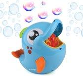 Gadgy® - Bellenblaasmachine Dolfijn - Automatische bellenblaas - Inclusief bellenblaas vloeistof - 20 cm groot