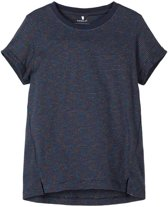 Name it t-shirt meisjes - blauw - NKFbhara - maat 134/140