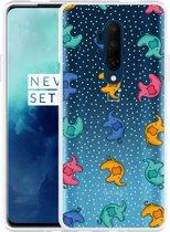 OnePlus 7T Pro Hoesje Happy Elephant