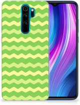 TPU bumper Xiaomi Note 8 Pro Waves Green