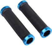 MTB handvatten 130mm strong GRIP - met lock bevestiging - Blauw
