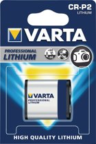 Varta CR-P2 Professional Photo Lithium 6V 1600mAh batterij