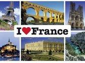 Schmidt puzzel I love France 1000 stukjes