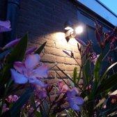 Luxform 230V Umbriel LED wand buitenlamp met sensor