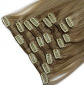 Clip In Hair Extensions ash blond mix 260gram 60cm 100%echt haar hairextensions