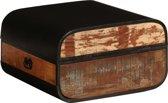 Kist 60x60x35 cm massief gerecycled hout