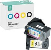 Sinji Inktcartidge voor Canon PG-40 + CL41 - Zwart/Cyaan/Magenta/Geel - Hoge capaciteit