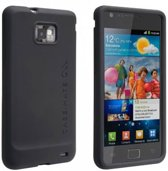 Case-Mate Safe Skin voor de Samsung Galaxy S II - Zwart