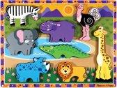 Melissa & Doug - Safari Chunky Puzzle