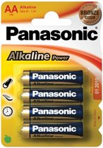 Goobay LR6 4-BL Panasonic Alkaline Power Single-use battery AA 1,5 V