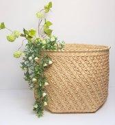 Natural Rieten Mand Palmyra Woven Straw Basket XXL