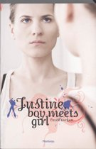 Justine, boy meets girl