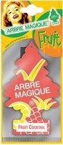 Arbre Magique Luchtverfrisser Fruit Cocktail  Oranje