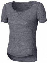 Odlo Revolution - Sportshirt - Dames - Grijs - Maat S