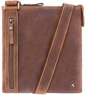 Visconti Taylor Messenger Bag Oil Brown