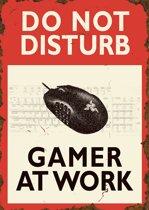 Do not disturb Gamer at work (PC) - klein formaat