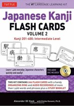 Japanese Kanji Flash Cards Kit Volume 2