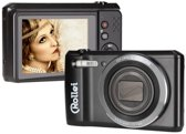 Rollei Historyline 98 Compactcamera 20.16MP 1/2.3'' CCD 5152 x 3864Pixels Zwart