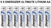 Energizer AA Lithium batterijen - 8 STUKS