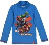 Marvel Avengers - Kinder/ kleuter - shirt - met col - blauw - maat 122/128