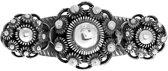 Lucardi - Zilveren broche 3 Zeeuwse knopen