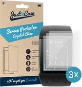 Just in Case Screen Protector voor Polar M600 - Crystal Clear - 3 stuks