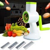 Clever Multifunctionele groentesnijder Spiraalsnijde Kaasrasp Keuken
