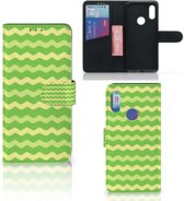 Telefoon Hoesje Xiaomi Redmi 7 Waves Green