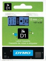 Dymo labelprinter-tapes D1 Standard 12mm x 7m