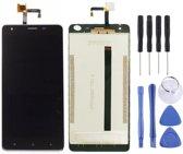 Let op type!! LCD-scherm en Digitizer voor Oukitel K6000 Pro (zwart)