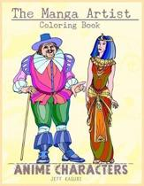 The Manga Artist Coloring Book