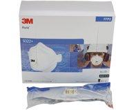 3M Stofmasker Aura P2 9322+Vent Wegwerp-10 stuks