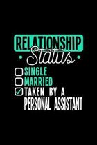Relationship Status Taken by a Personal Assistant