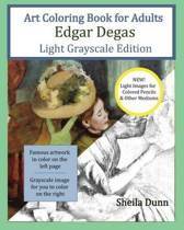 Art Coloring Book for Adults Edgar Degas
