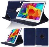 Draaibare hoes Samsung Galaxy Tab 4 10.1 blauw