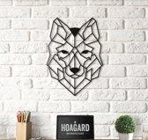 Metalen Wolf Wanddecoratie - Metal Wolf - Hoagard   Wall Deco   Muurdecoratie   Wandplanken   Perfecte Cadeau Idee Voor Dierenliefhebbers en Natuurliefhebbers