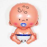 Blauwe Baby XL - Kraamcadeau – Geboorte versiering – Geboorte ballonnen – Feest versiering – Baby Shower – Geboorte jongen