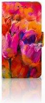 Nokia 2 Boekhoesje Design Tulips