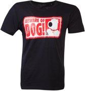 Family Guy - Beware Of Dog T-shirt - 2XL