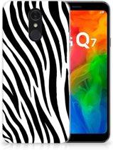 LG Q7 TPU Hoesje Zebra